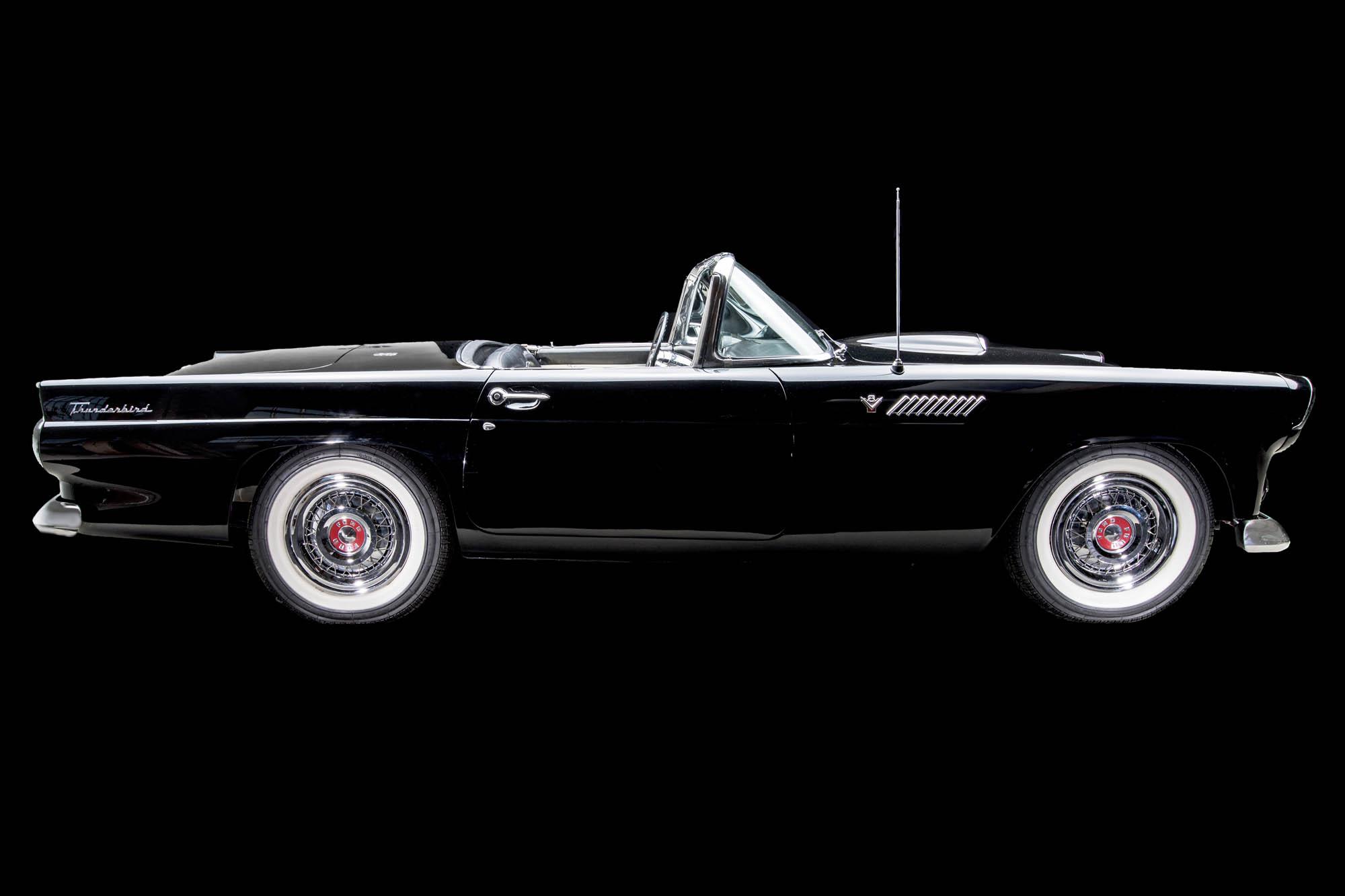 1955 Ford Thunderbird Convertible Ok Classic 1954 T Bird