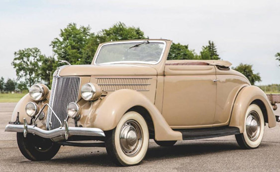 1936 Ford V8 DeLuxe Cabriolet